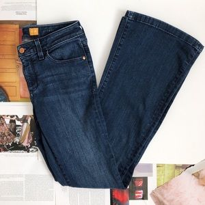 Anthropologie Pilcro Stet Mid Rise Flare Jeans